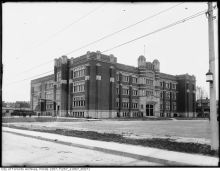 Central High School of Commerce, 570 Shaw Street