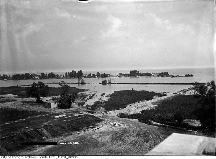Ashbridge's Bay from the Disposal Works, June 20, 1912