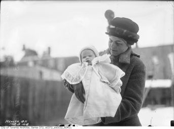 Baby Ruby Brommell - 63 Russett Avenue (Toronto Archive Fonds 200, Series 372, Subseries 32, Item 411)