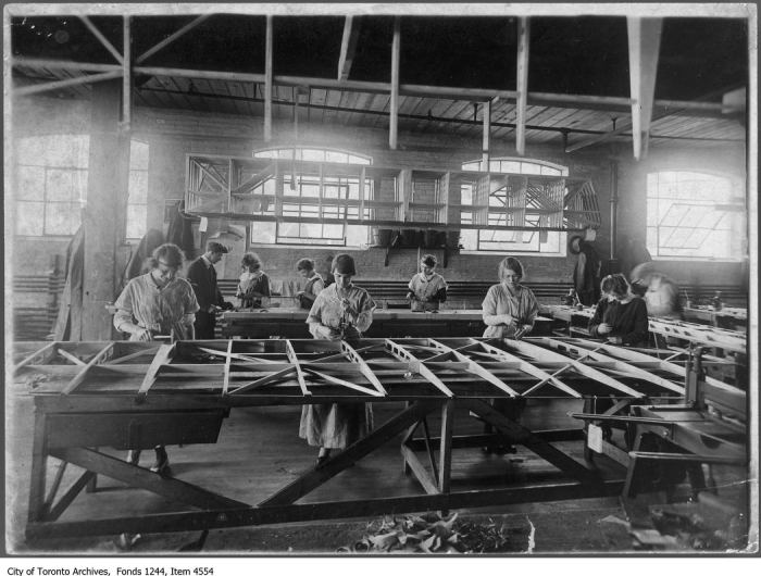 Airplane assembly. - {1916]